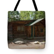 Twin No. 2 Cabin At The Holzwarth Historic Site Tote Bag