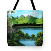 Twin Ponds Tote Bag