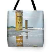 Twin Towers At Whiskey Beach Tote Bag