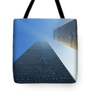 Twin Towers Tote Bag by Jon Neidert