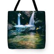 Twin Waterfall Tote Bag