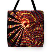 Twirling Under The Christmas Tree Tote Bag