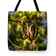 Twirling Vine Tendril Tote Bag