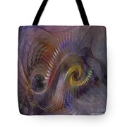Twist And Shout - Square Version Tote Bag