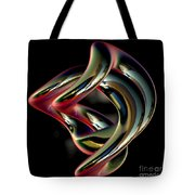 Twisted Abstract 2 Tote Bag