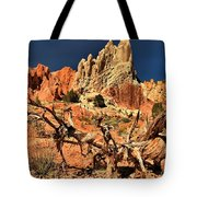 Twisted And Colorful Tote Bag