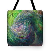 Twisted Branch Tote Bag