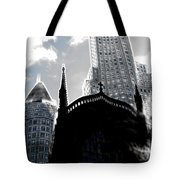 Twisted City Tote Bag