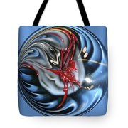 Twisted Clown Orb Tote Bag