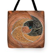 Twisted Koin Tote Bag