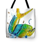 Twisted Mahi Tote Bag