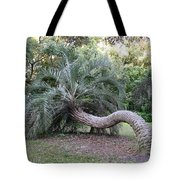 Twisted Palm Tote Bag