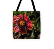 Twisted Petals Tote Bag