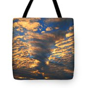 Twisted Sunset Tote Bag