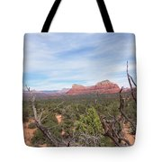 Twisted Tree View Tote Bag