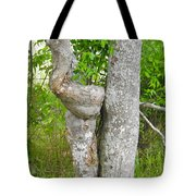 Twisted Trunk Tote Bag