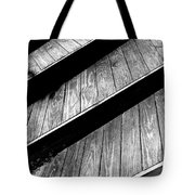 Twisted View Tote Bag