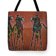 Two Against One Tote Bag