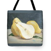 Two And A Half Pears Tote Bag