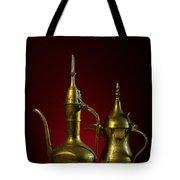 Two Arabic Coffee Pots Tote Bag