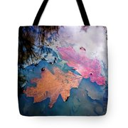 Two Autumn Leaves Tote Bag