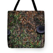 Two Black Stools Tote Bag