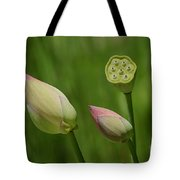 Two Buds In A Shower Tote Bag