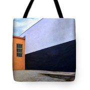Two Buildings Tote Bag