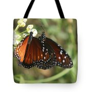 Two Butterflies Tote Bag
