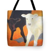 Two Calves Tote Bag