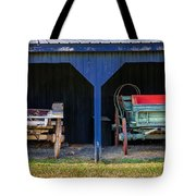 Two Carts Tote Bag