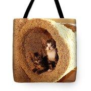 Two Cats In A Condo Tote Bag
