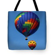 Two Colorful Balloons Tote Bag