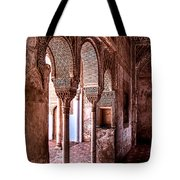 Two Columns Tote Bag