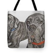 Two Cool Danes Tote Bag