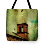 Two Crosses Two Crows Tote Bag
