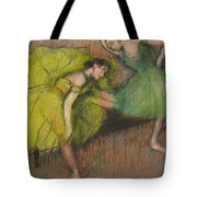 Two Dancers In The Foyer Tote Bag