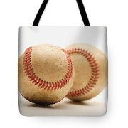 Two Dirty Baseballs Tote Bag