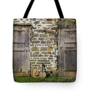 Two Doors On A Barn Tote Bag
