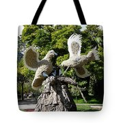 Two Doves  Tote Bag