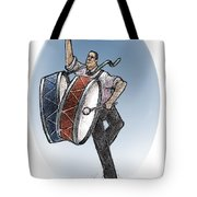 Two Drums Tote Bag