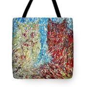 Twelve Passionate Months Led In A Day Of Fate Tote Bag