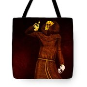 Two Faces Of Death Tote Bag by Bob Orsillo