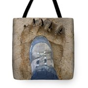 Two Feet Tote Bag