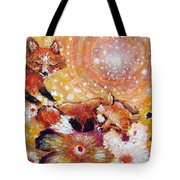 Two Foxes You Have A Friend In Me Tote Bag