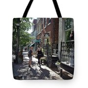 Two Friends In Alexandria Tote Bag