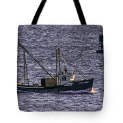 Two Girls And A Buoy Tote Bag