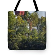 Two Harbors Mn Lighthouse 19 Tote Bag