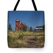 Two Harbors Mn Lighthouse 21 Tote Bag