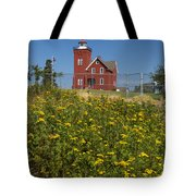 Two Harbors Mn Lighthouse 22 Tote Bag